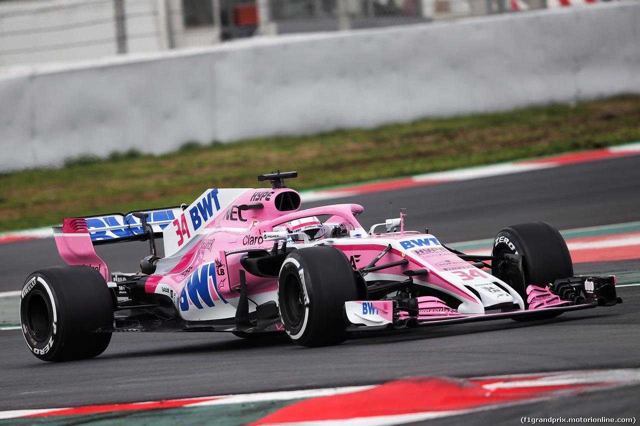TEST F1 BARCELLONA 26 FEBBRAIO, Nikita Mazepin (RUS) Sahara Force India F1 VJM11 Development Driver. 26.02.2018.