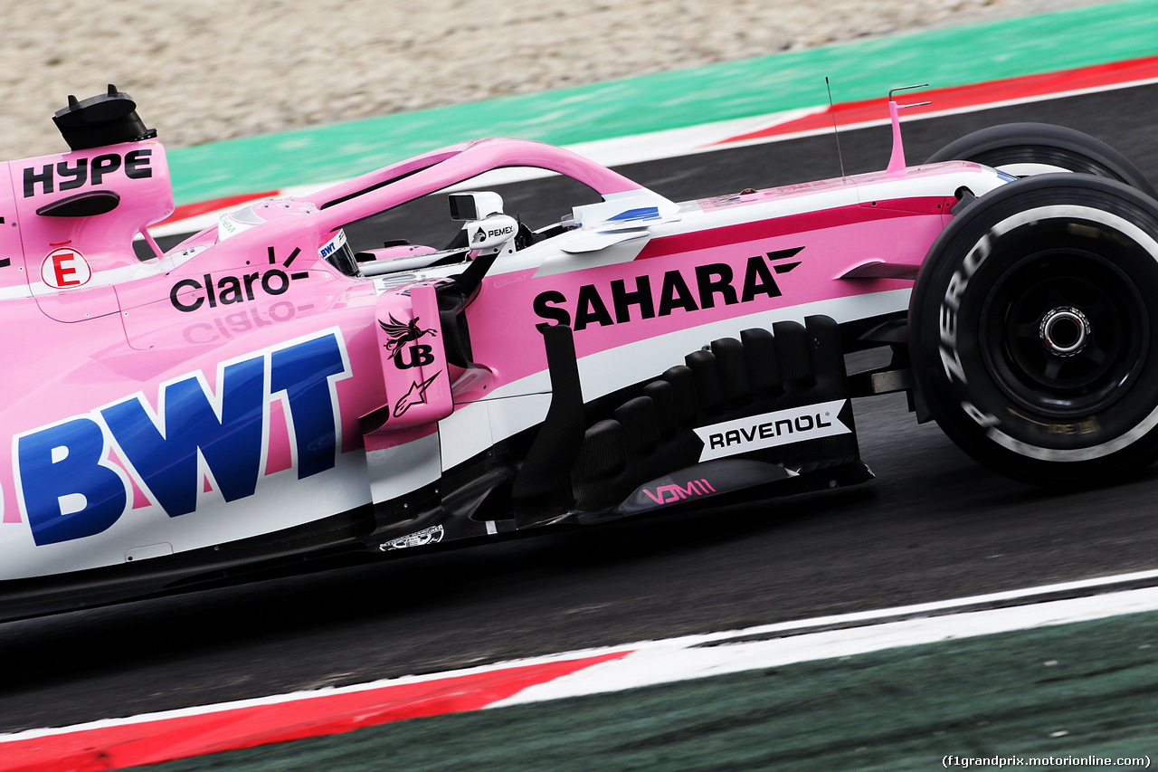 TEST F1 BARCELLONA 26 FEBBRAIO, Nikita Mazepin (RUS) Sahara Force India F1 VJM11 Development Driver. 26.02.2018.