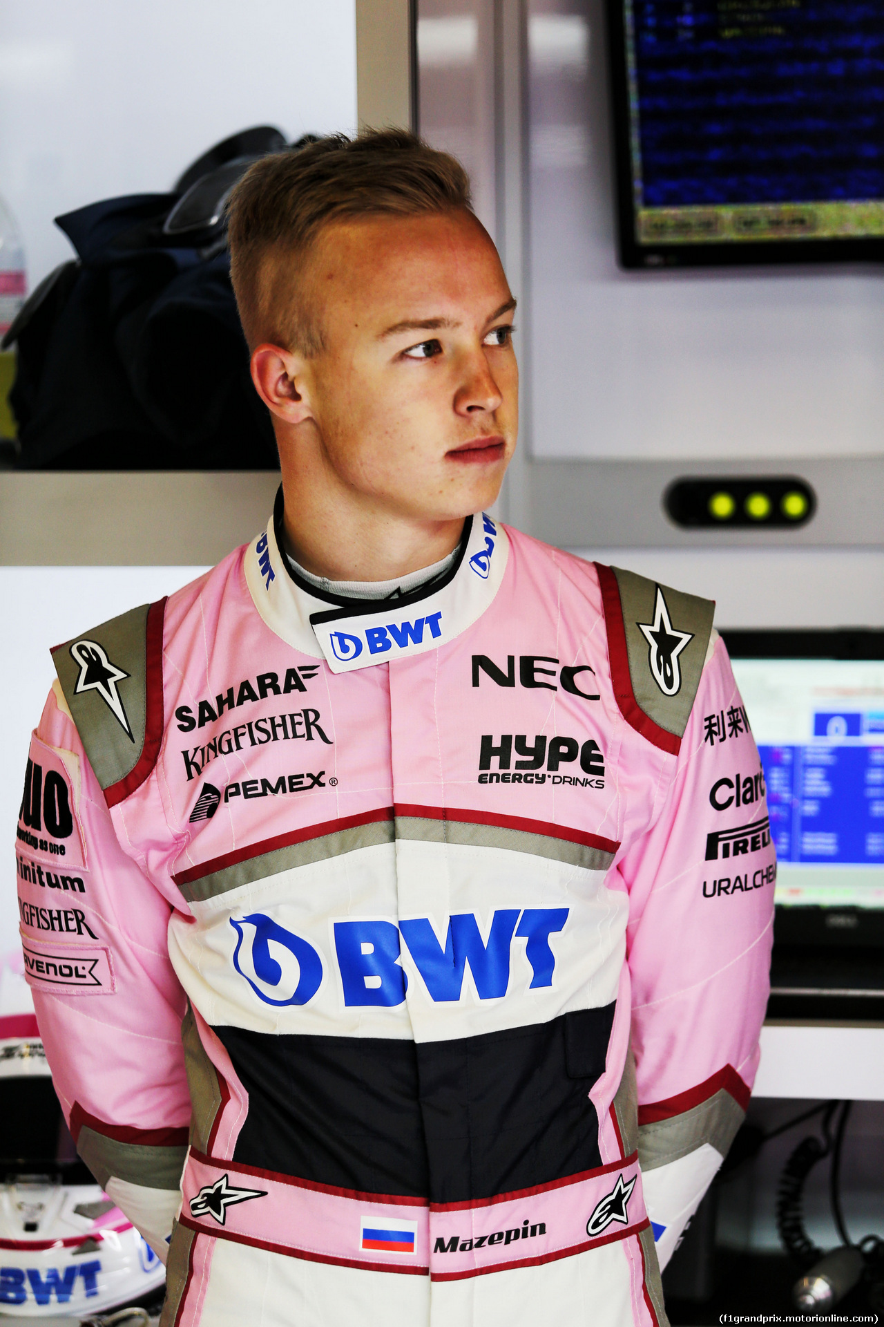 TEST F1 BARCELLONA 26 FEBBRAIO, Nikita Mazepin (RUS) Sahara Force India F1 Team Development Driver. 26.02.2018.
