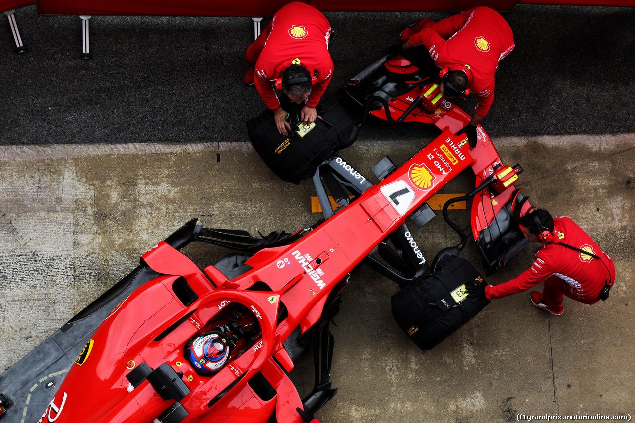 TEST F1 BARCELLONA 26 FEBBRAIO, Kimi Raikkonen (FIN) Ferrari SF71H. 26.02.2018.