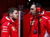 TEST F1 BARCELLONA 27 FEBBRAIO, Sebastian Vettel (GER) Ferrari with Riccardo Adami (ITA) Ferrari Gara Engineer. 27.02.2018.