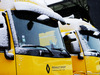 TEST F1 BARCELLONA 28 FEBBRAIO, Renault Sport F1 Team trucks with snow. 28.02.2018.