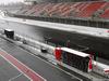 TEST F1 BARCELLONA 28 FEBBRAIO, 28.02.2018 - Snow falls at the ciruiit