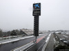 TEST F1 BARCELLONA 28 FEBBRAIO, 28.02.2018 - Snow falls at the ciruiit