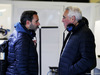 TEST F1 BARCELLONA 7 MARZO, Lawrence Stroll (CDN) Businessman e father of Lance Stroll (CDN) Williams (Right). 07.03.2018.