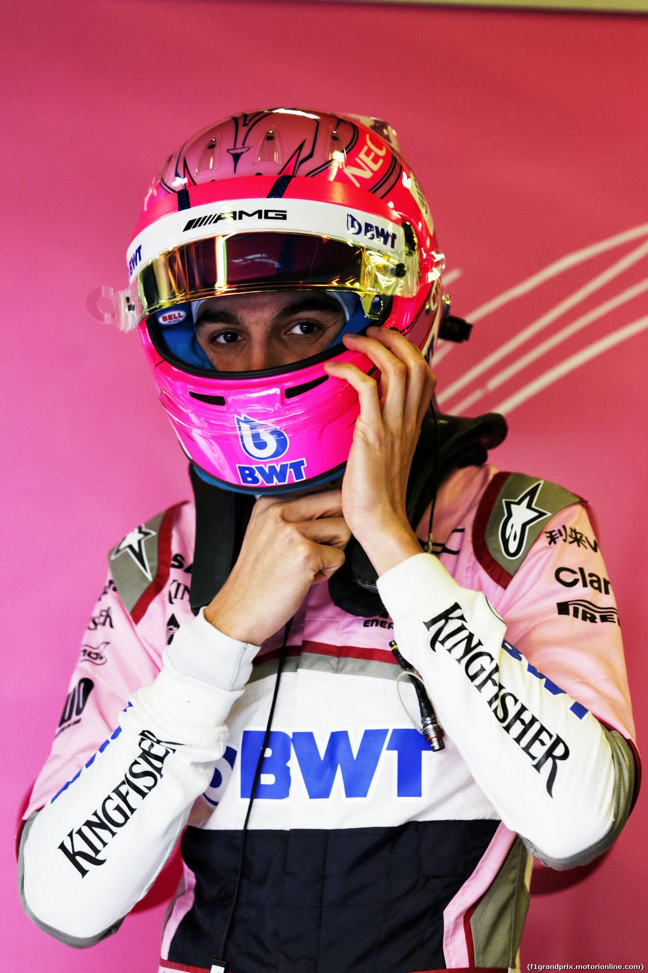 TEST F1 BARCELLONA 7 MARZO, Esteban Ocon (FRA) Sahara Force India F1 Team. 07.03.2018.
