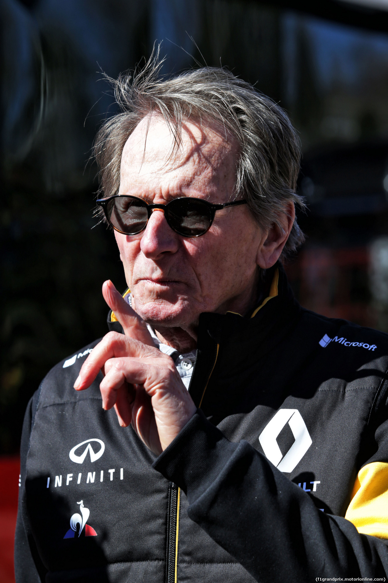 TEST F1 BARCELLONA 7 MARZO, Jean-Pierre Jabouille (FRA), guest of the Renault Sport F1 Team. 07.03.2018.