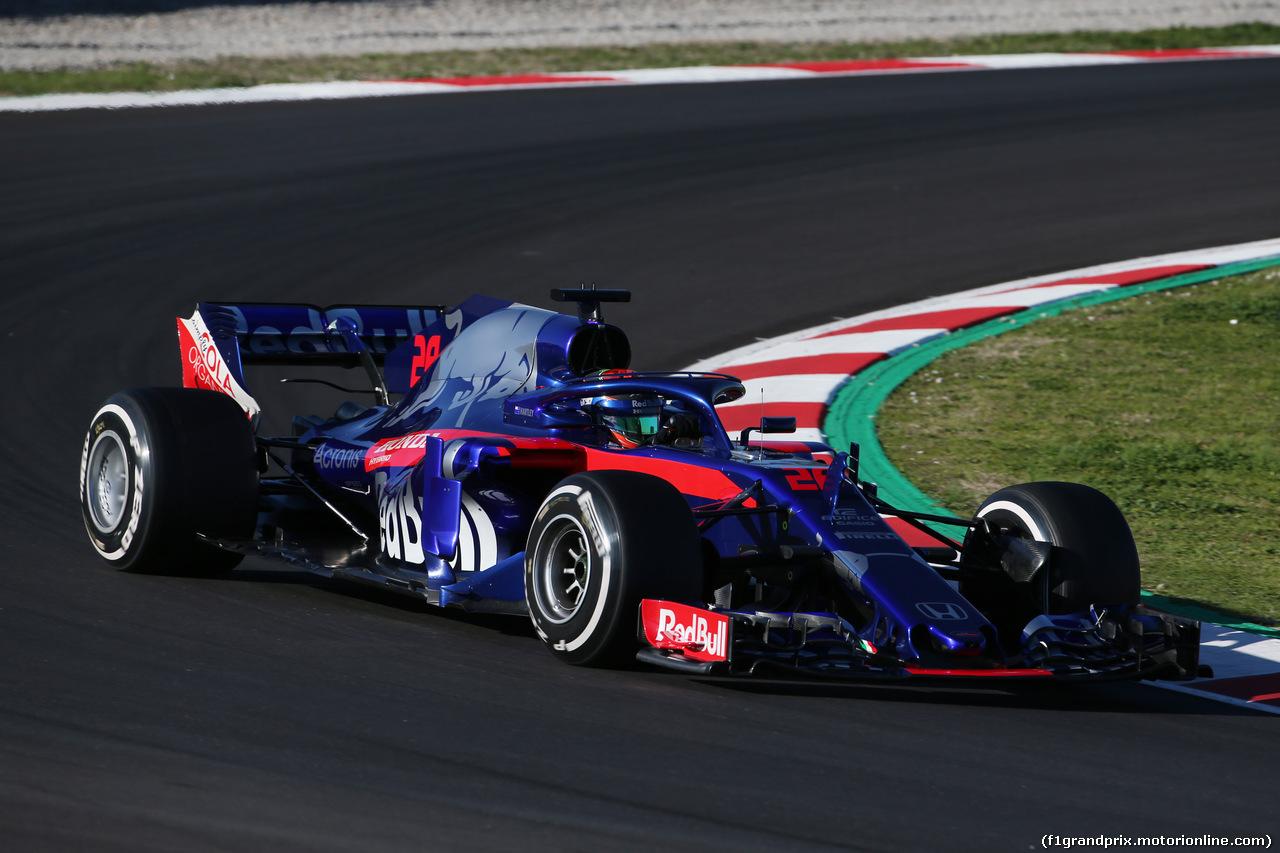 TEST F1 BARCELLONA 7 MARZO, Brendon Hartley (NZL) Scuderia Toro Rosso STR13. 07.03.2018.
