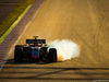TEST F1 BARCELLONA 8 MARZO, Kevin Magnussen (DEN) Haas VF-18 locks up under braking. 06.03.2018.