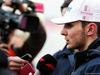 TEST F1 BARCELLONA 8 MARZO, Esteban Ocon (FRA) Sahara Force India F1 Team with the media. 07.03.2018.