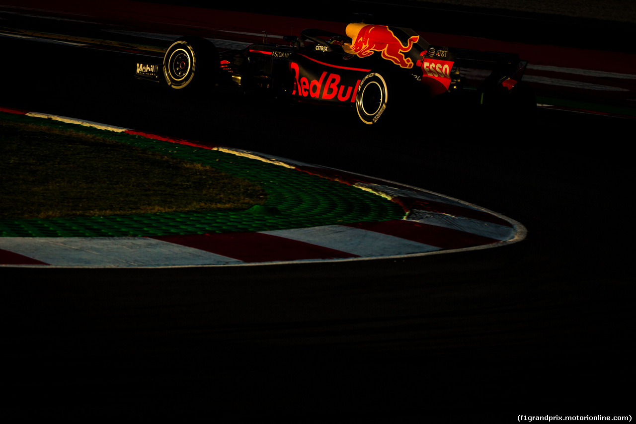 TEST F1 BARCELLONA 8 MARZO, Max Verstappen (NLD) Red Bull Racing RB13. 06.03.2018.