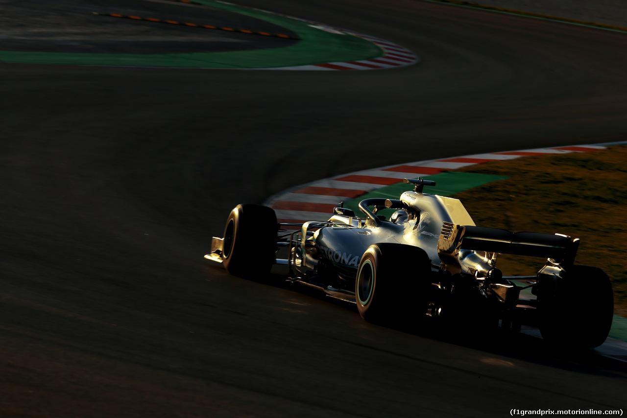TEST F1 BARCELLONA 8 MARZO, Valtteri Bottas (FIN) Mercedes AMG F1  07.03.2018.