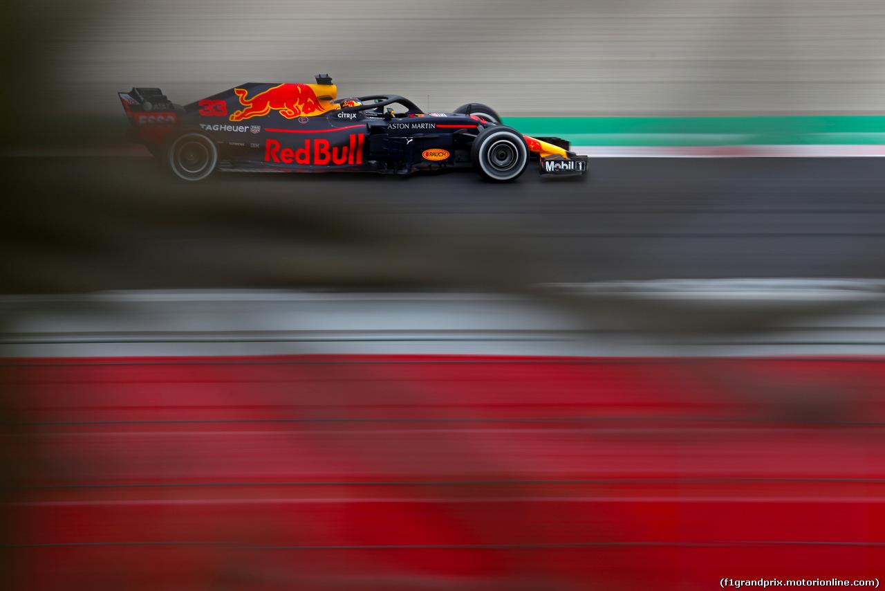TEST F1 BARCELLONA 8 MARZO, Daniel Ricciardo (AUS) Red Bull Racing  08.03.2018.