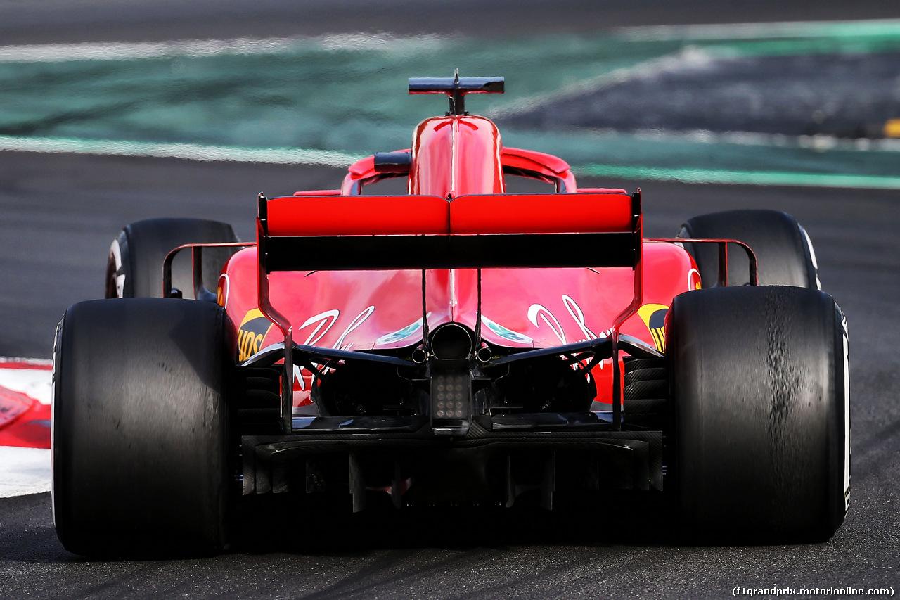 TEST F1 BARCELLONA 8 MARZO, Sebastian Vettel (GER) Ferrari SF71H. 08.03.2018.