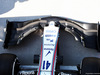 TEST F1 UNGHERIA 31 LUGLIO, Williams FW41 front wing. 31.07.2018.