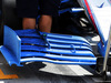TEST F1 UNGHERIA 31 LUGLIO, Williams FW41 front wing with flow-vis paint. 31.07.2018.