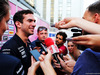 TEST F1 UNGHERIA 31 LUGLIO, Nicholas Latifi (CDN) Sahara Force India F1 Team Development Driver with the media. 31.07.2018.