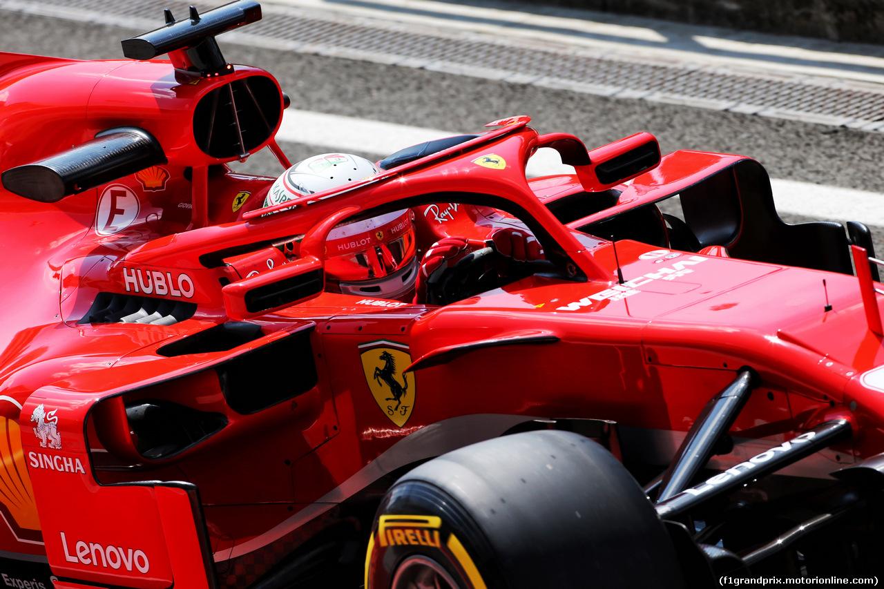 TEST F1 UNGHERIA 31 LUGLIO, Antonio Giovinazzi (ITA) Ferrari SF71H Test Driver. 31.07.2018.