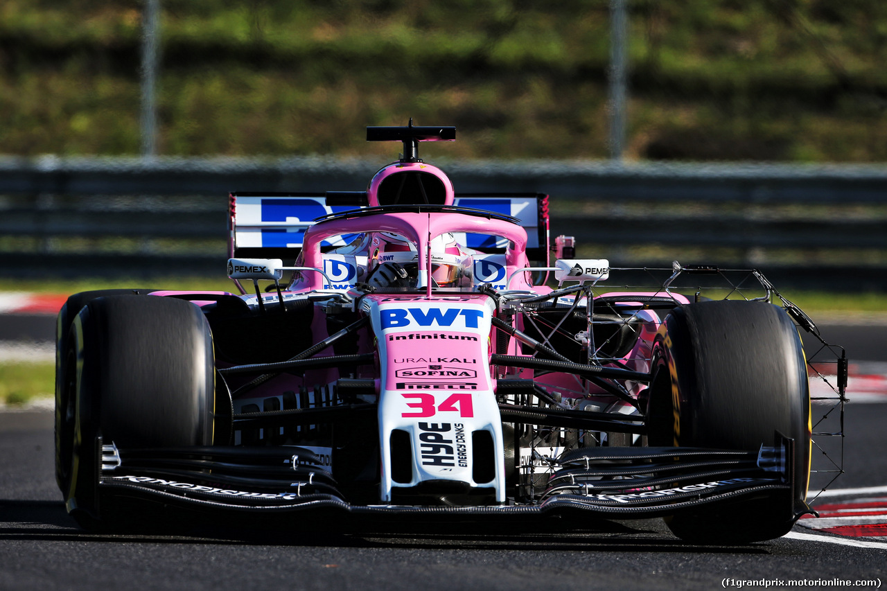 TEST F1 UNGHERIA 31 LUGLIO, Nikita Mazepin (RUS) Sahara Force India F1 VJM11 Development Driver. 31.07.2018.
