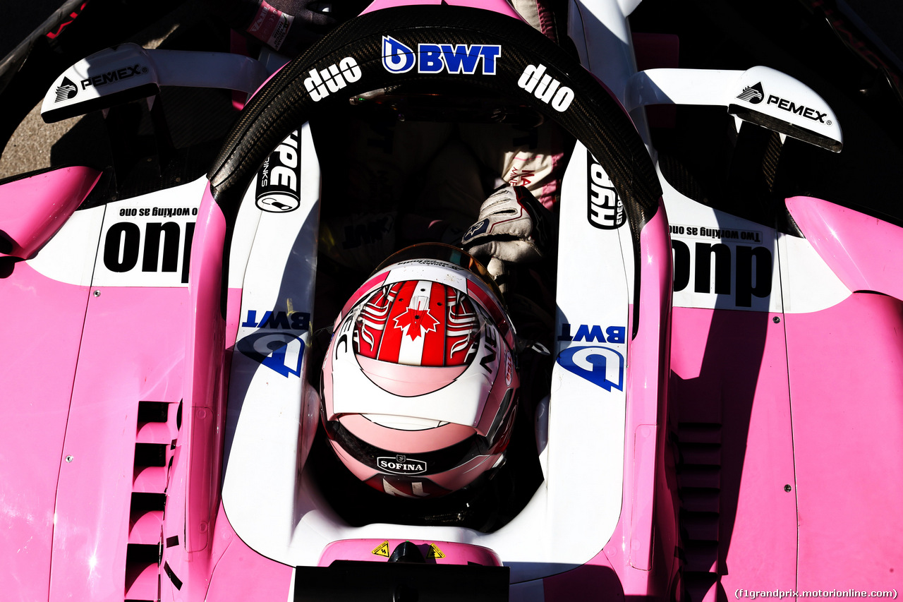 TEST F1 UNGHERIA 31 LUGLIO, Nicholas Latifi (CDN) Sahara Force India F1 VJM11 Development Driver. 31.07.2018.