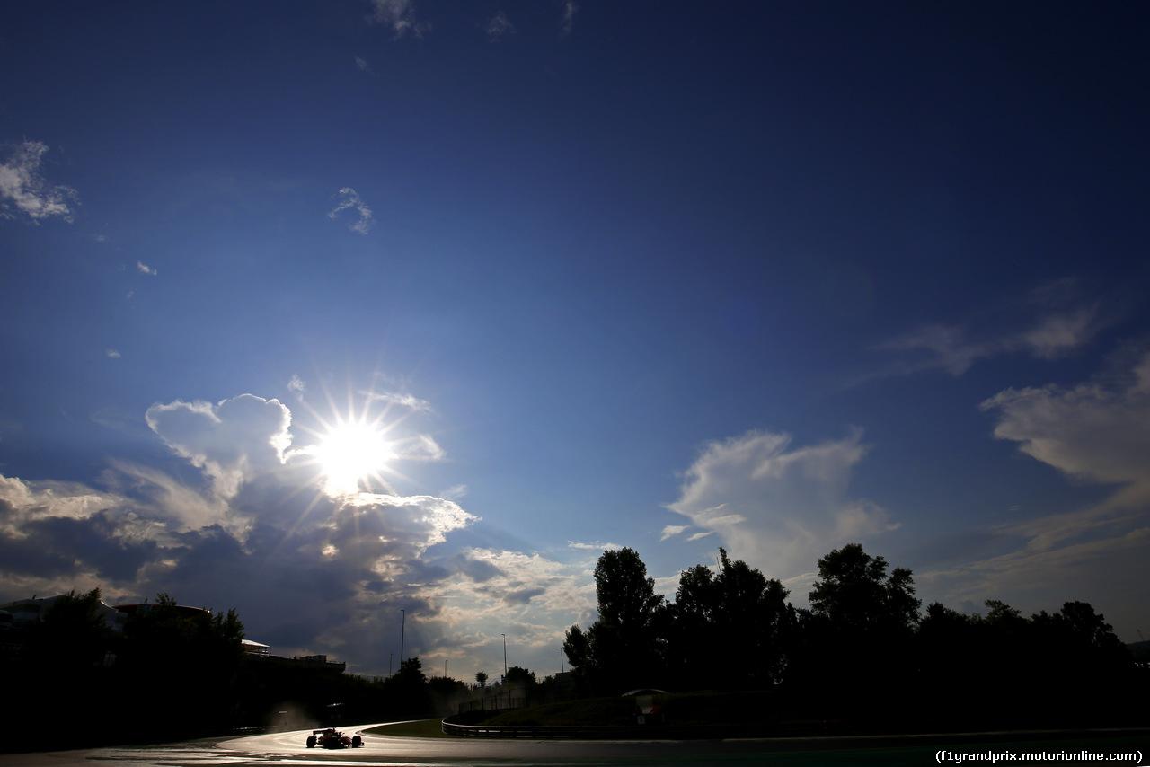 TEST F1 UNGHERIA 31 LUGLIO, Lando Norris (GBR) McLaren Honda  31.07.2018.