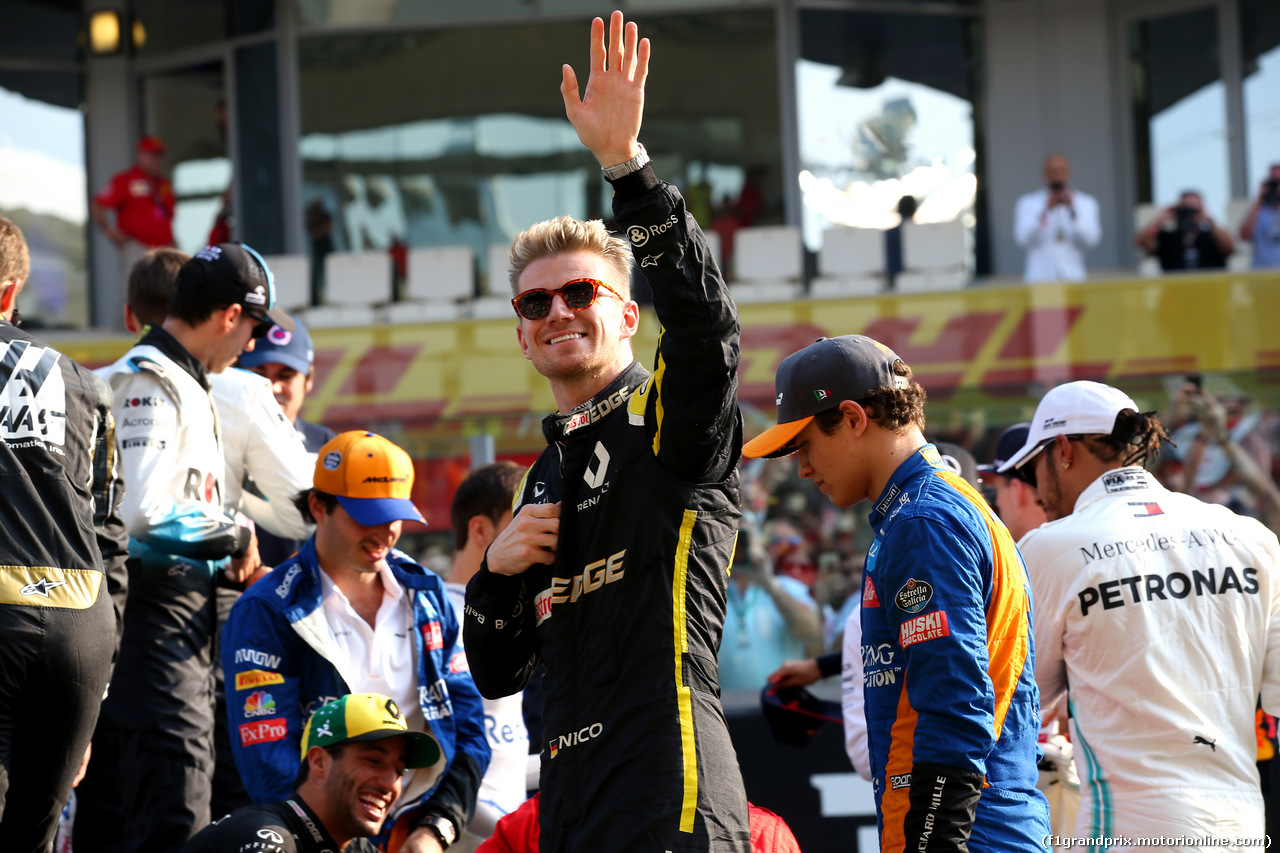 GP ABU DHABI, Nico Hulkenberg (GER) Renault Sport F1 Team RS19. 01.12.2019.