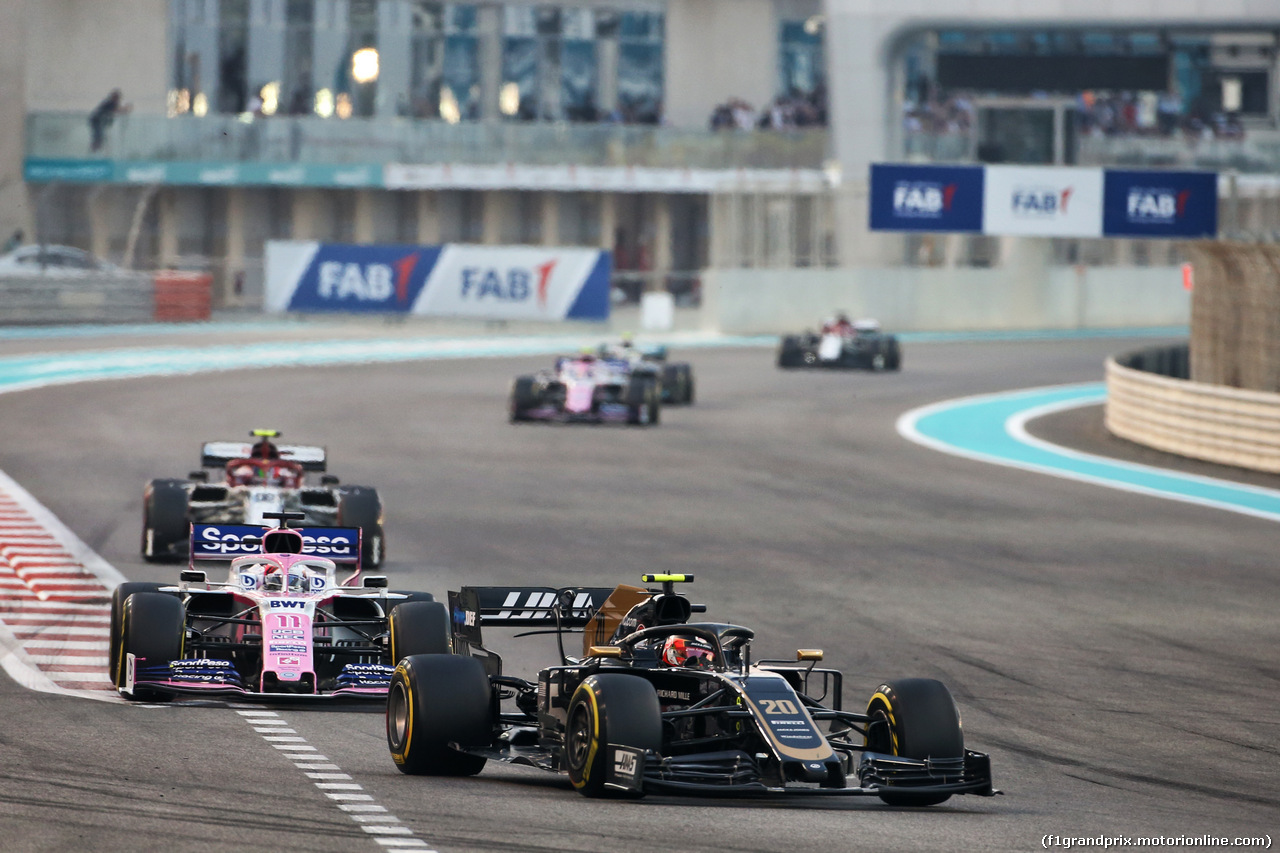 GP ABU DHABI, Kevin Magnussen (DEN) Haas VF-19. 01.12.2019.