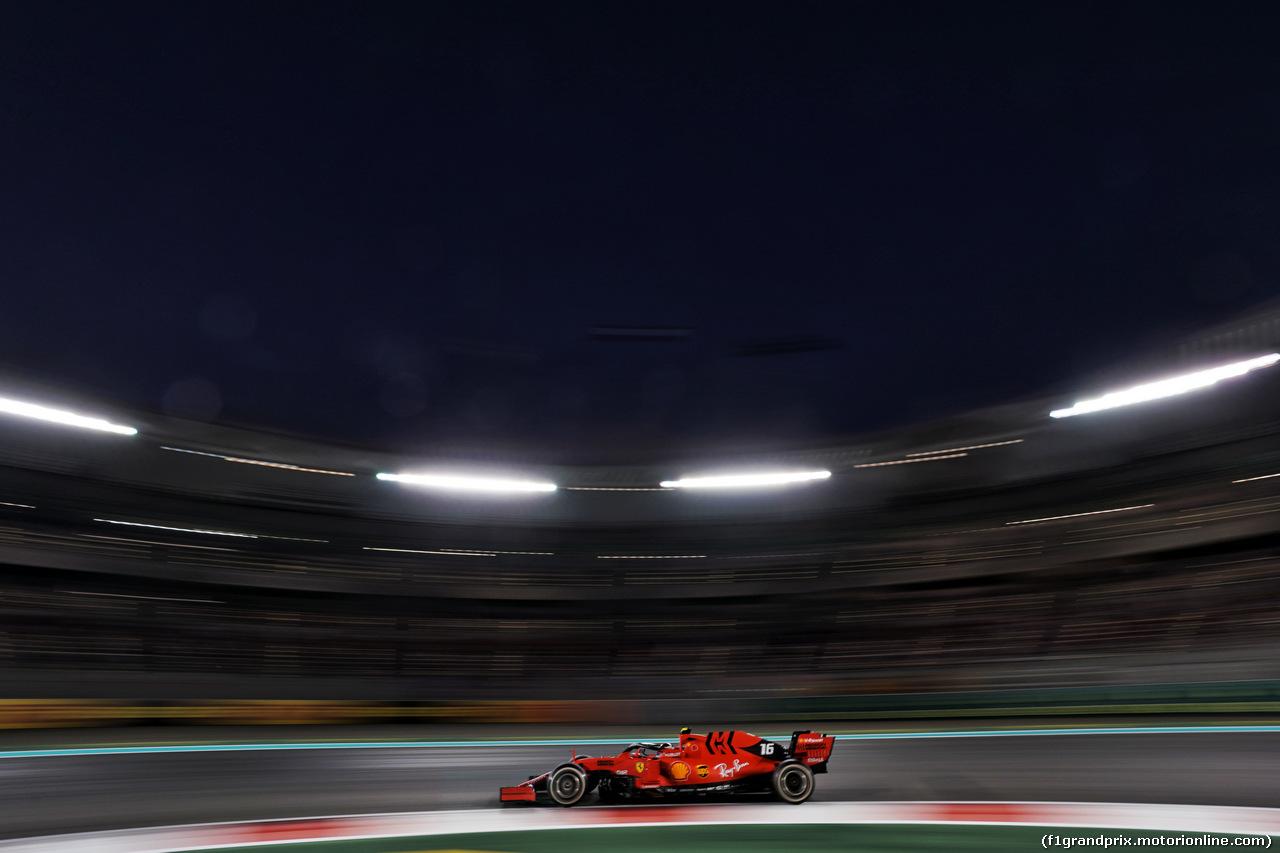 GP ABU DHABI, Charles Leclerc (MON) Ferrari SF90. 01.12.2019.