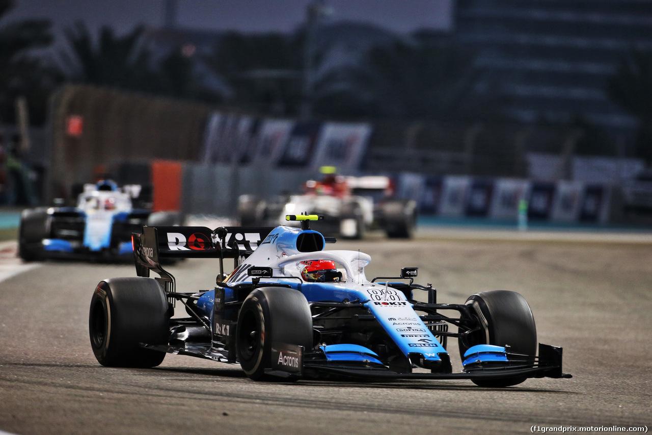 GP ABU DHABI, Robert Kubica (POL) Williams Racing FW42. 01.12.2019.
