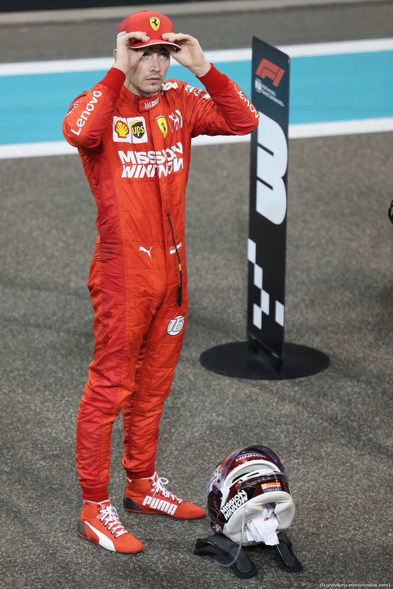 GP ABU DHABI, Charles Leclerc (FRA), Ferrari  01.12.2019.