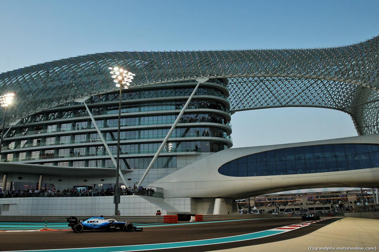 GP ABU DHABI, George Russell (GBR) Williams Racing FW42. 01.12.2019.