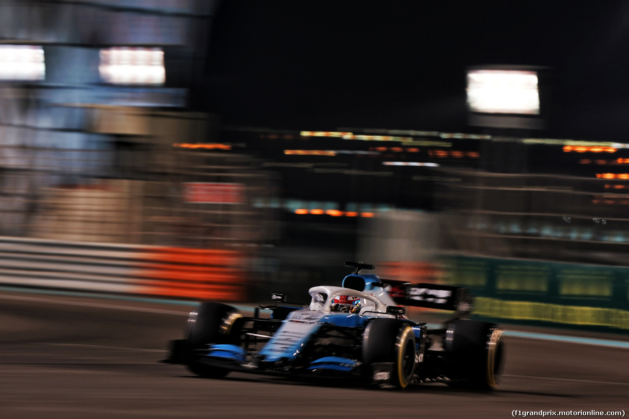 GP ABU DHABI, George Russell (GBR) Williams Racing FW42. 01.12.2019.