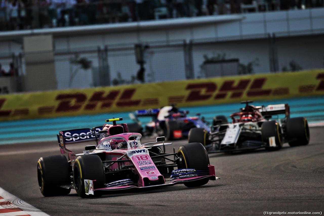 GP ABU DHABI, Lance Stroll (CDN) Racing Point F1 Team RP19. 01.12.2019.
