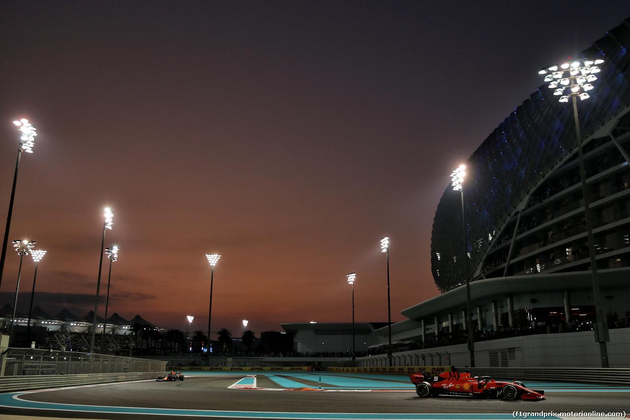 GP ABU DHABI, Sebastian Vettel (GER) Ferrari SF90. 01.12.2019.