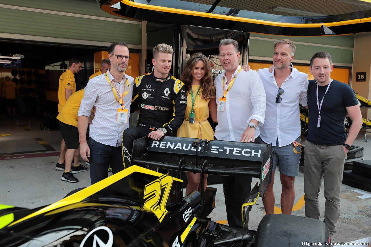 GP ABU DHABI, 01.12.2019 - Gara, Nico Hulkenberg (GER) Renault Sport F1 Team RS19