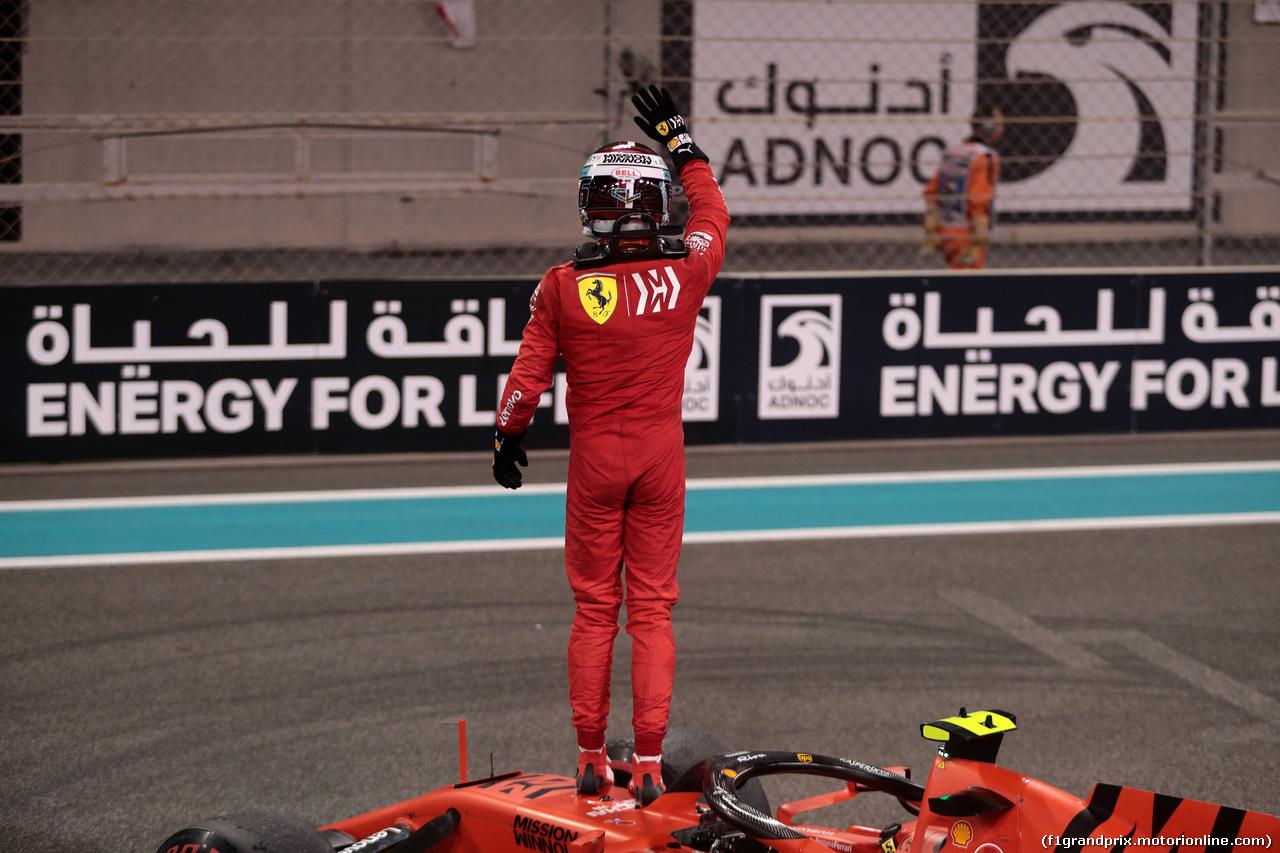 GP ABU DHABI, 01.12.2019 - Gara, 3rd place Charles Leclerc (MON) Ferrari SF90