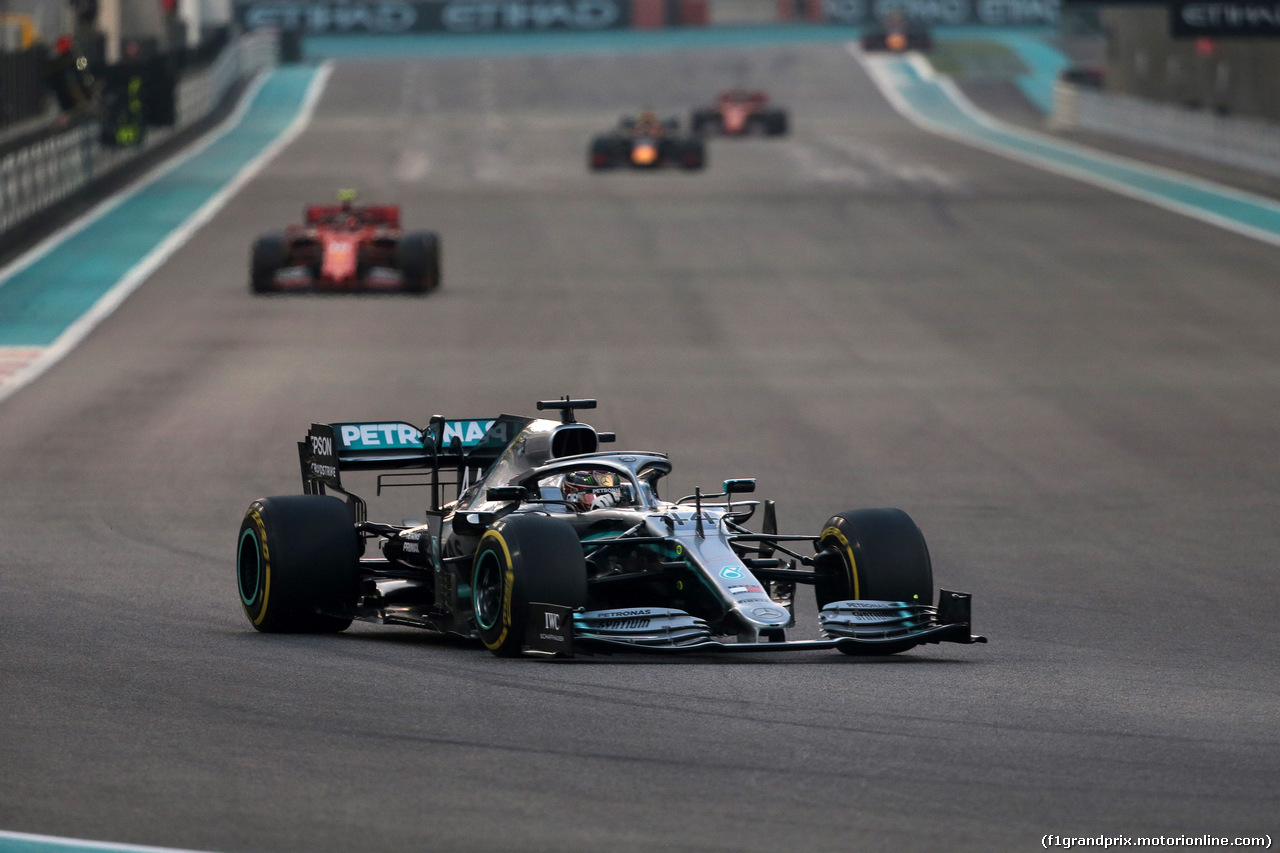 GP ABU DHABI, 01.12.2019 - Gara, Lewis Hamilton (GBR) Mercedes AMG F1 W10