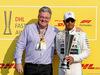 GP ABU DHABI, Lewis Hamilton (GBR) Mercedes AMG F1 - DHL Fastest Lap Award. 01.12.2019.