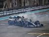 GP ABU DHABI, Gara winner Lewis Hamilton (GBR) Mercedes AMG F1 W10 celebrates at the end of the race. 01.12.2019.