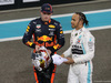 GP ABU DHABI, Max Verstappen (NLD), Red Bull Racing e Lewis Hamilton (GBR), Mercedes AMG F1   01.12.2019.