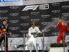 GP ABU DHABI, 01.12.2019 - Gara, Lewis Hamilton (GBR) Mercedes AMG F1 W10 vincitore, 2nd place Max Verstappen (NED) Red Bull Racing RB15 e 3rd place Charles Leclerc (MON) Ferrari SF90
