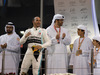GP ABU DHABI, Gara winner Lewis Hamilton (GBR) Mercedes AMG F1 celebrates on the podium. 01.12.2019.