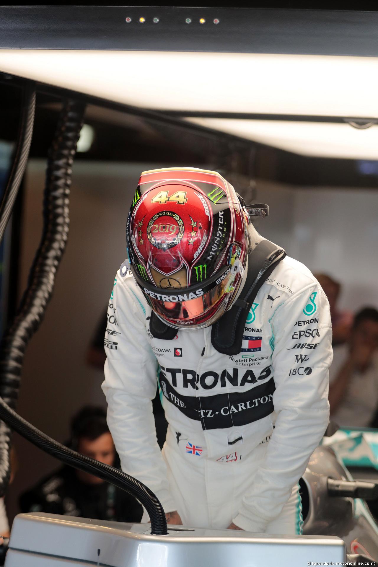 GP ABU DHABI, 30.11.2019 - Lewis Hamilton (GBR) Mercedes AMG F1 W10