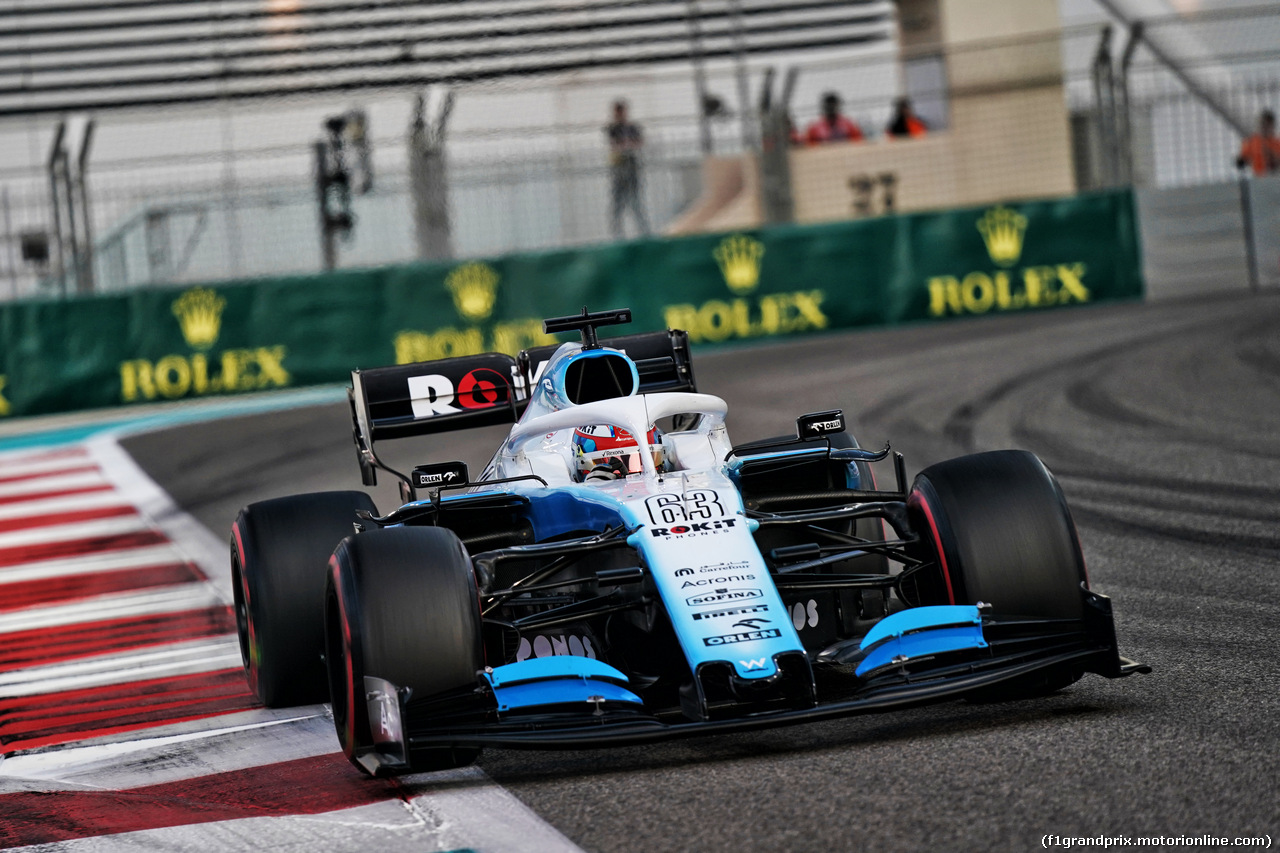 GP ABU DHABI, George Russell (GBR) Williams Racing FW42. 30.11.2019.
