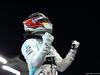 GP ABU DHABI, Lewis Hamilton (GBR) Mercedes AMG F1 celebrates his pole position in qualifying parc ferme. 30.11.2019.