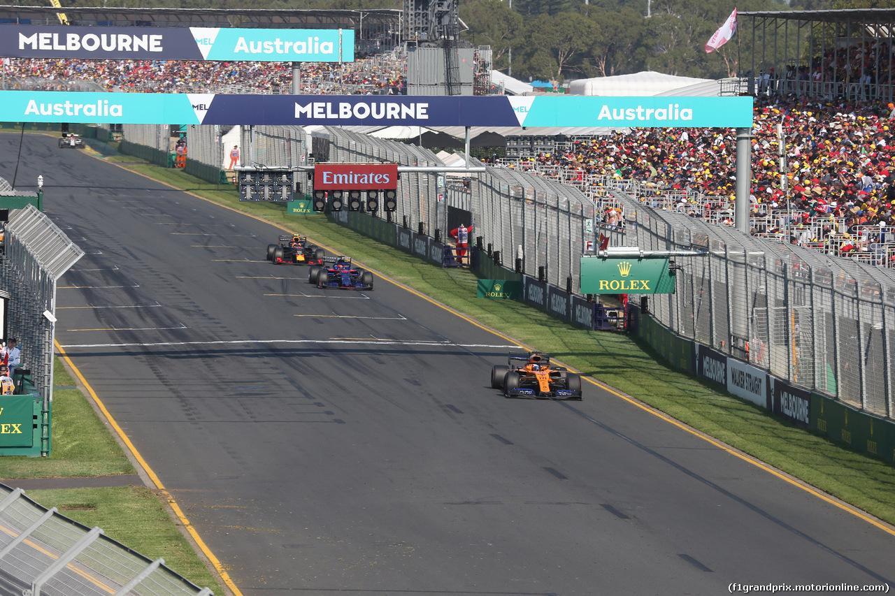 GP AUSTRALIA, 17.03.2019- race: Carlos Sainz Jr (ESP) Mclaren F1 Team MCL34