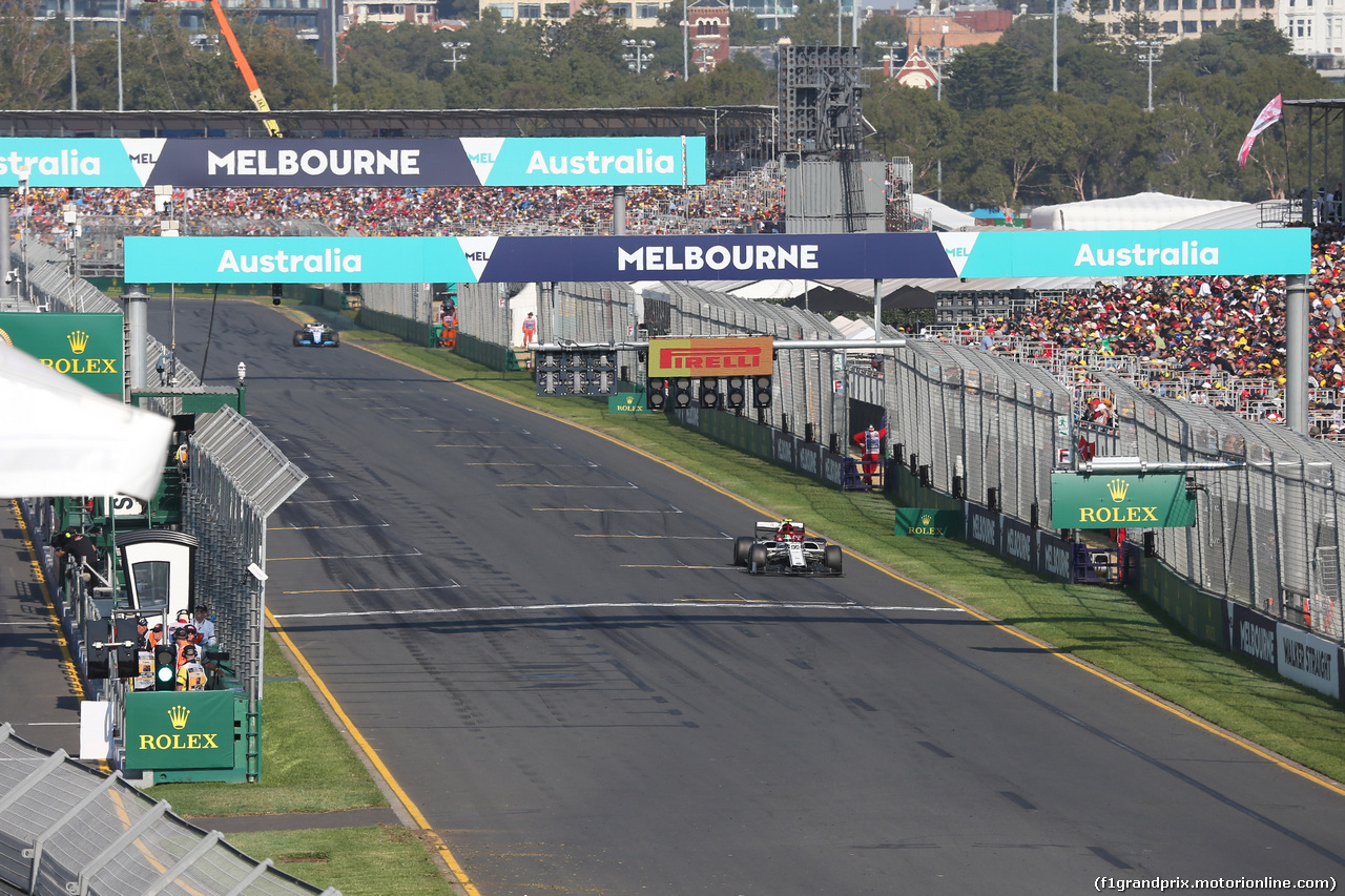 GP AUSTRALIA, 17.03.2019- race: Antonio Giovinazzi (ITA) Alfa Romeo Racing C38