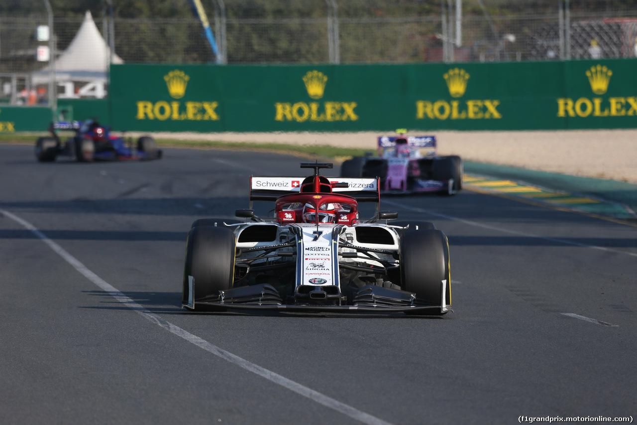 GP AUSTRALIA, 17.03.2019- race, Kimi Raikkonen (FIN) Alfa Romeo Racing C38