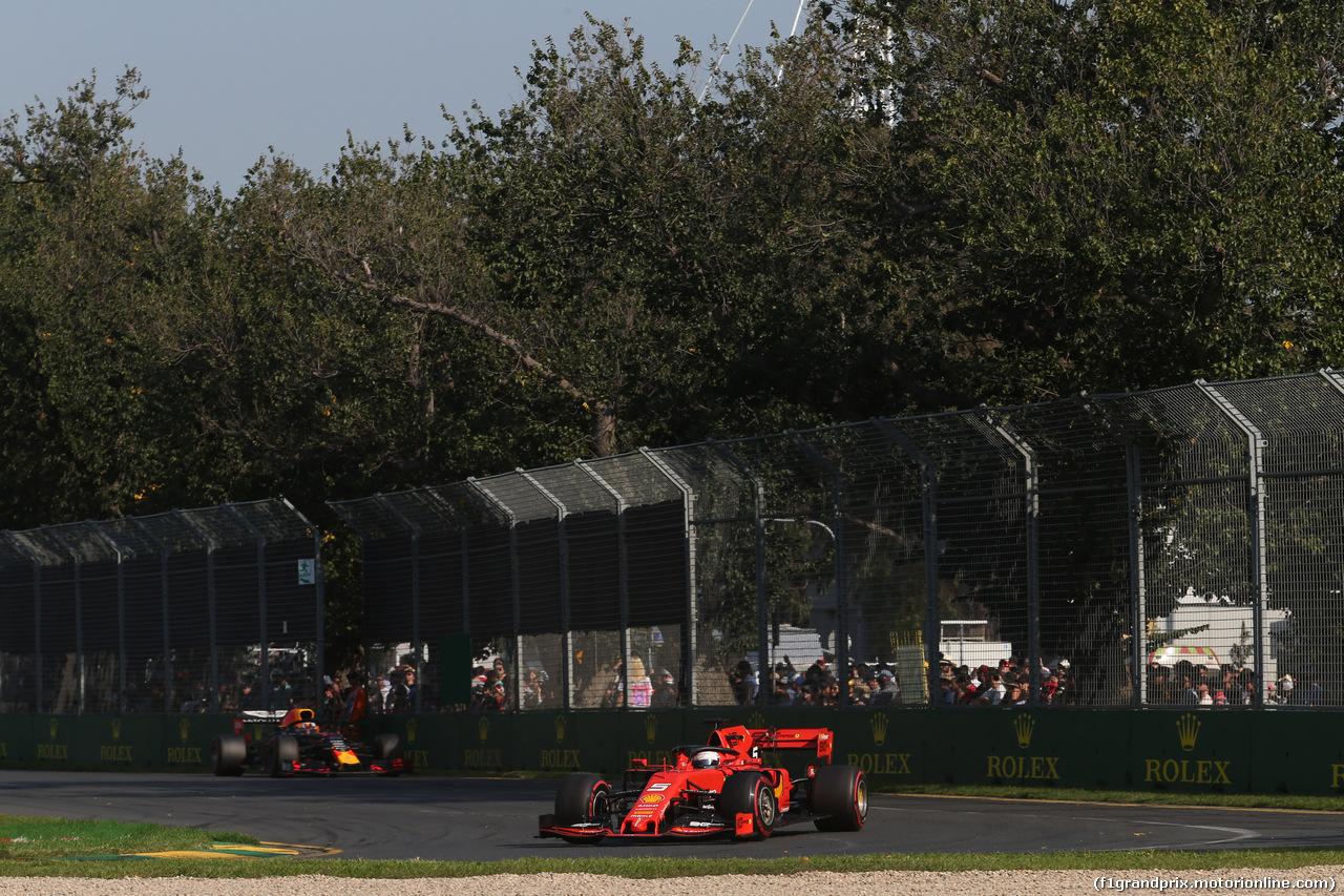 GP AUSTRALIA, 17.03.2019- race, Sebastian Vettel (GER) Ferrari SF90