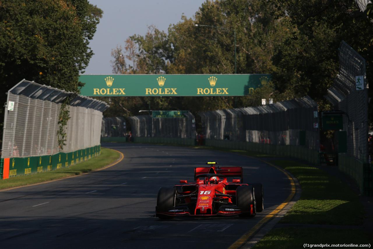 GP AUSTRALIA, 17.03.2019- race, Charles Leclerc (MON) Ferrari SF90